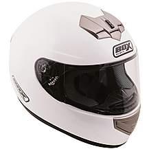 Box White Motorcycle Helmet
