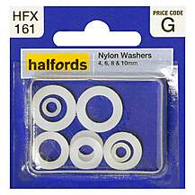 image of Halfords Assorted Nylon Washers (HFX161)