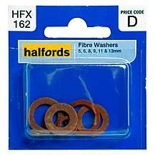 image of Halfords Assorted Fibre Washers (HFX162)