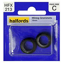image of Halfords Wiring Grommets 19mm