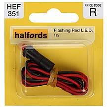image of Halfords Flashing Red Light