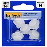 image of Halfords Trim Panel Clips