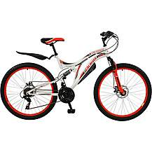 "image of Boss Ice White Womens 18"" Mountain Bike"