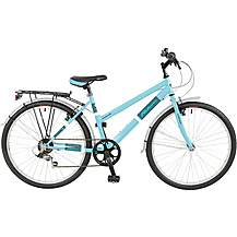 "image of Falcon Expression Womens 17"" Hybrid Bike"