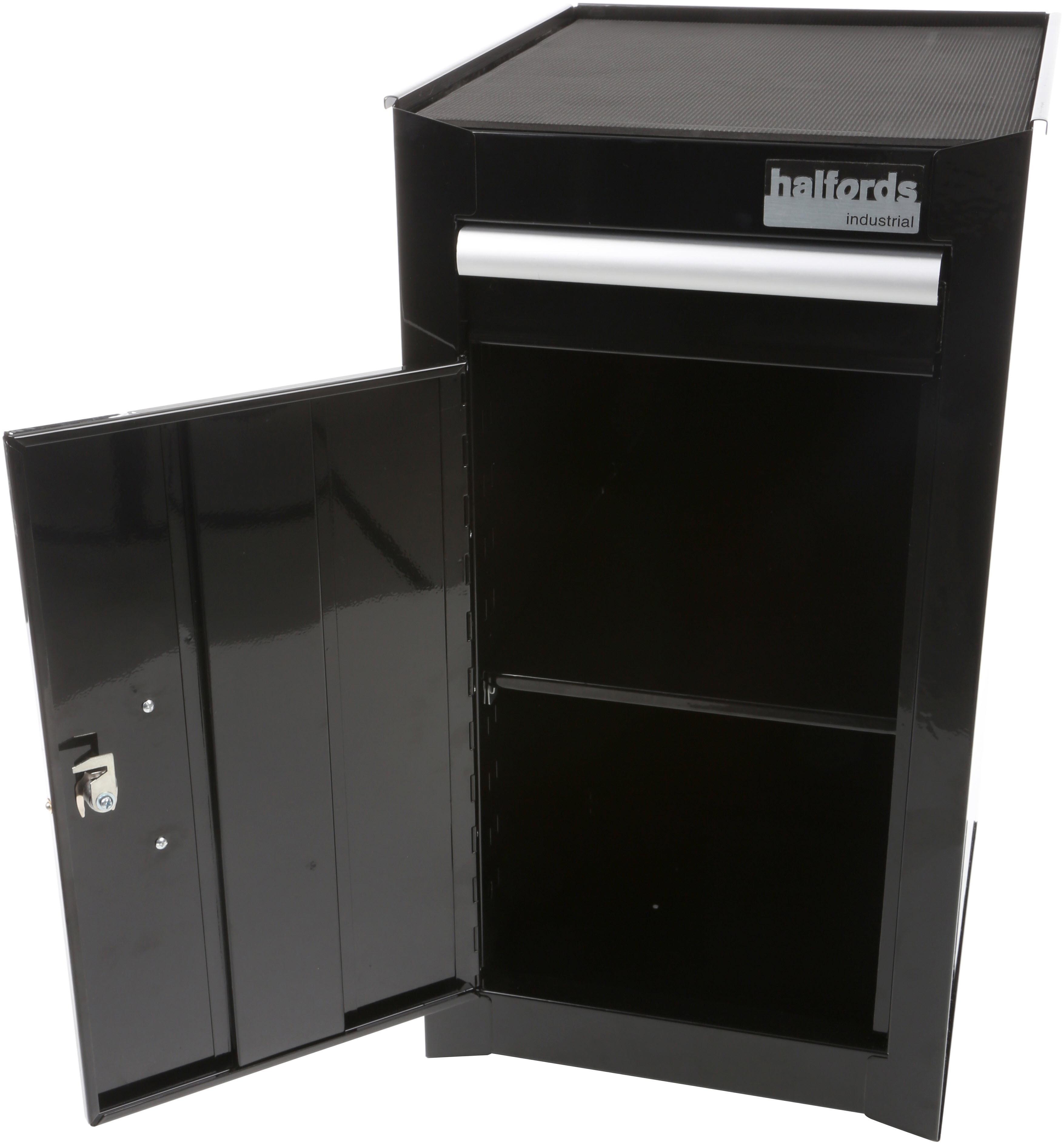Beau Halfords Industrial 1 Drawer Side Cabinet ...