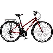 "image of Falcon Venture Womens 17"" Hybrid Bike"