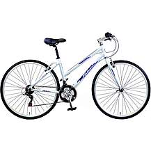 "image of Falcon Modena Womens 17"" Hybrid Bike"