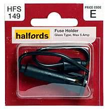 image of halfords fuse holder (hfs149)