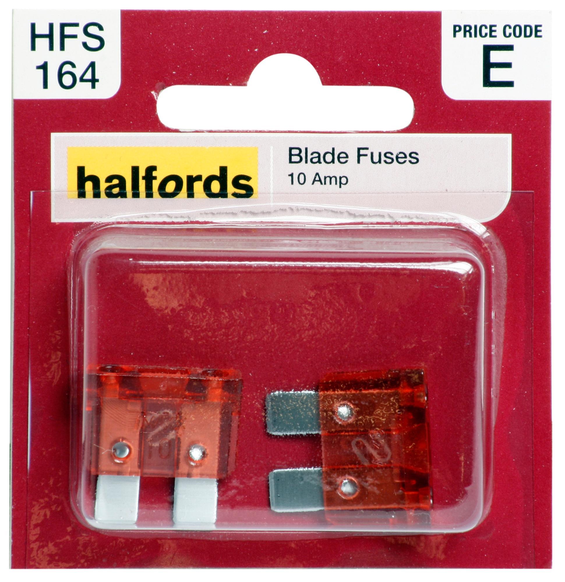 halfords blade fuses 10 amp rh halfords com