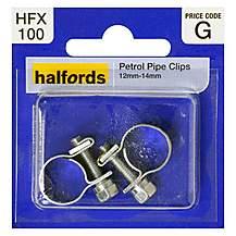 image of Halfords Petrol Hose Clips