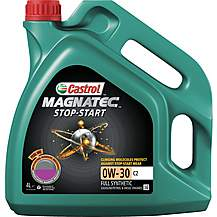 image of Castrol Magnatec Stop-Start 0W-30 C2 Oil 4L