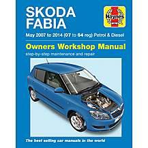 image of Haynes Skoda Fabia Petrol & Diesel (2007-2014) Manual