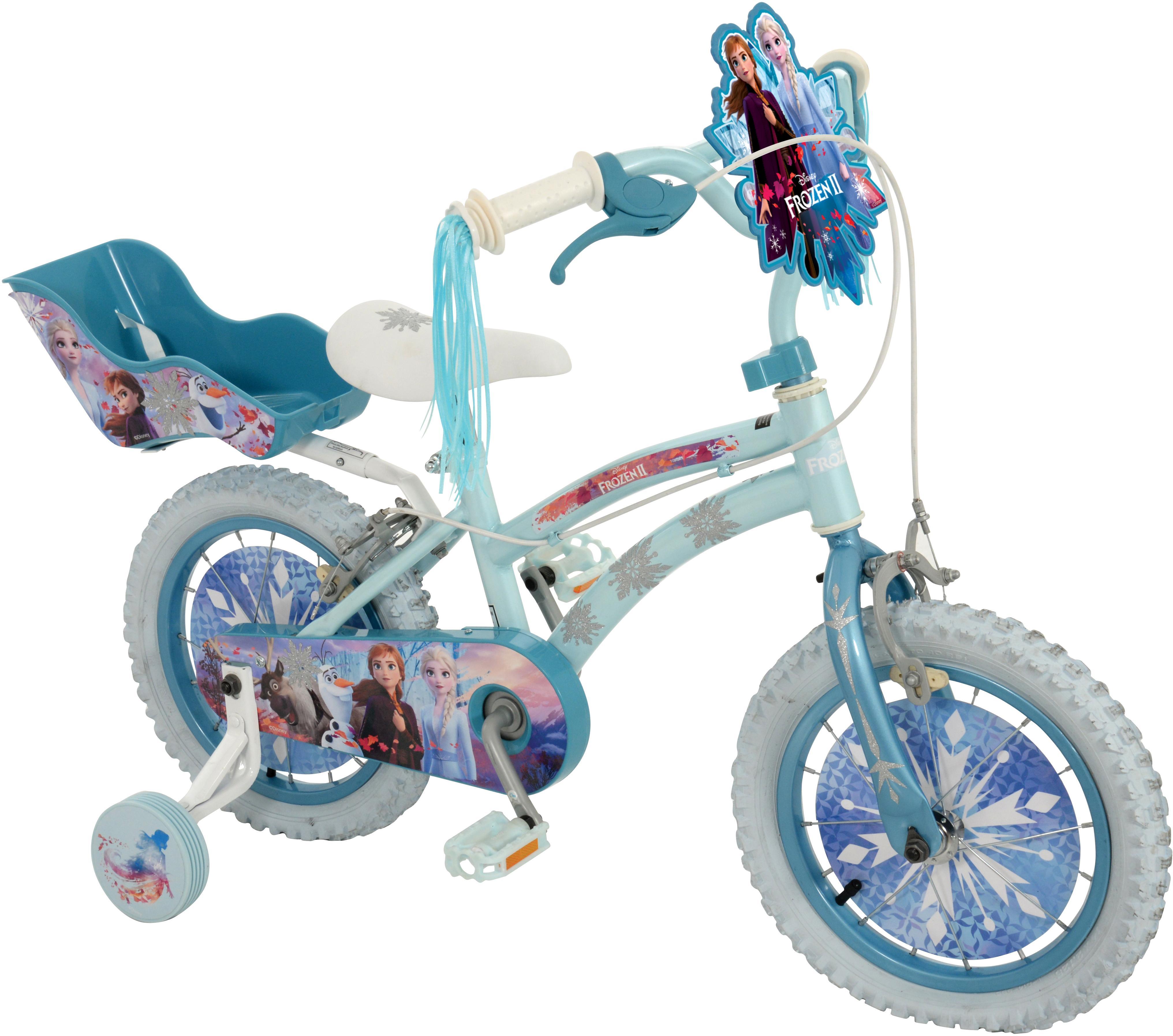 Frozen 2 Kids Bike   14 Inch Wheel