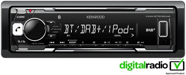 Kenwood BT502DAB Digital+ Car Stereo