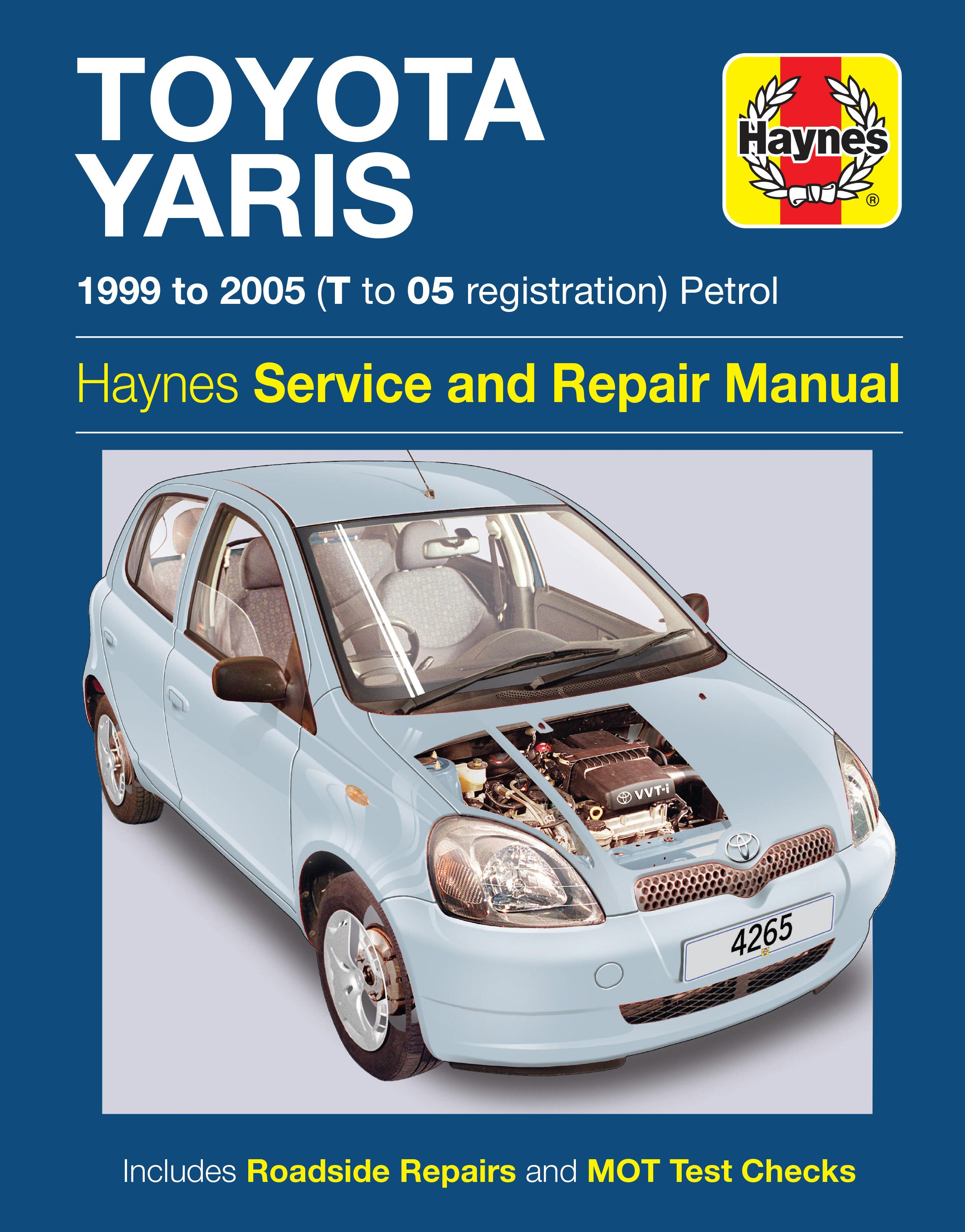 haynes toyota yaris 99 05 manua rh halfords com workshop manual toyota yaris diesel Toyota Yaris Repair Manual PDF