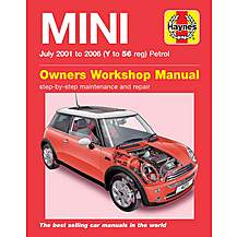 image of Haynes BMW Mini (01 - 05) Manual