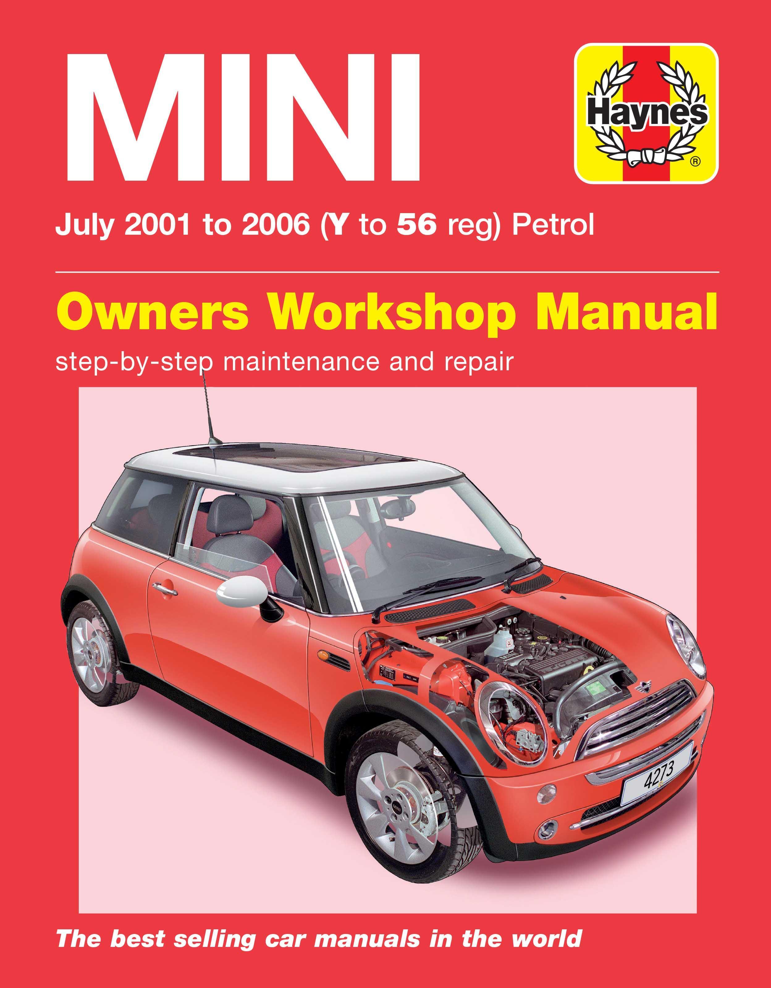 haynes bmw mini 01 05 manual rh halfords com 2003 Mini Cooper Radio Manual 2003 Mini Cooper Repair Manual