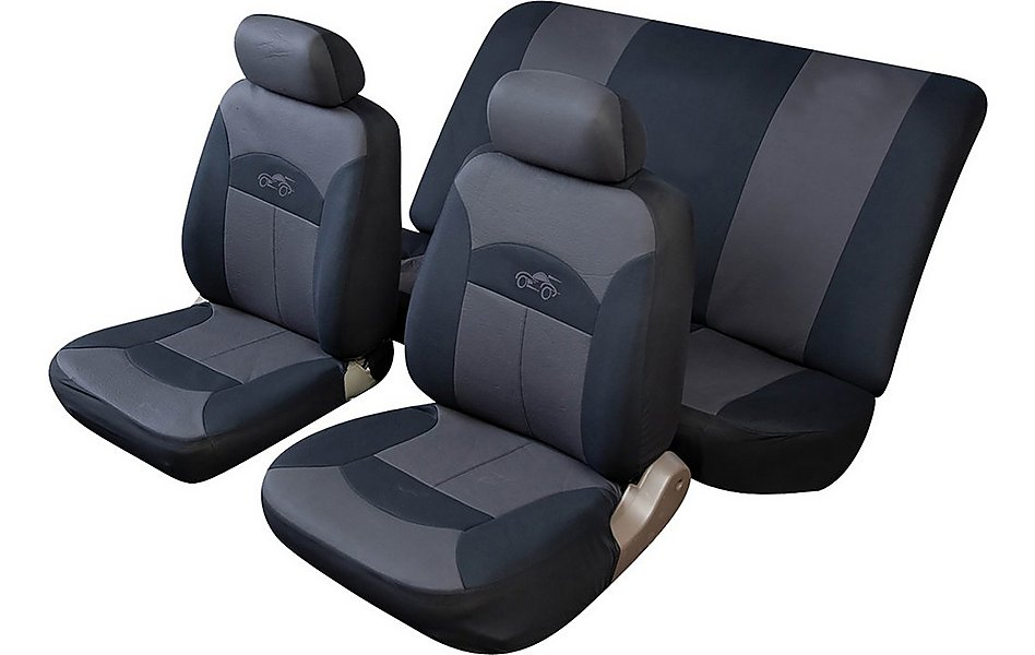Incredible Cosmos Celcius Full Set Seat Covers Black Grey Unemploymentrelief Wooden Chair Designs For Living Room Unemploymentrelieforg