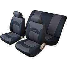 image of Cosmos Celcius Full Set Seat Covers Black/Grey