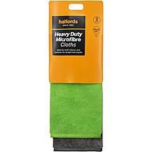image of Halfords Microfibre Heavy Duty Cloths