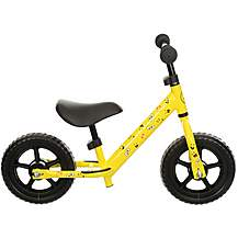 "image of Indi Limited Edition Balance Bike - Yellow - 10"" Wheel"