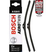 image of Bosch A016S Wiper Blades - Front Pair