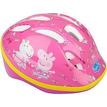 image of Peppa Pig Kids Bike Helmet (48-52cm) 2017