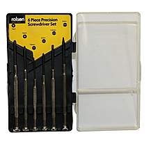 image of Rolson 6 piece Precision Screwdriver Set