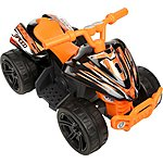 image of EVO Volt 6V Electric Ride On Quad - Black