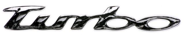 Turbo chrome badge