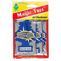 image of Little Trees New Car Scent Air Freshener 3 Pack