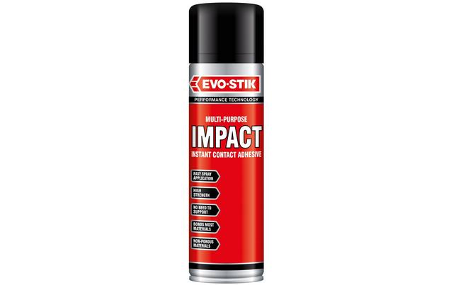 evo stik multi purpose impact insta  evo stik multi purpose impact instant contact adhesive