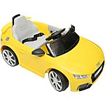 image of Audi TT RS 6V Ride On Car With Remote Control
