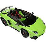 image of Lamborghini Aventador 6V Ride On Car With Remote Control