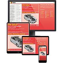 image of Haynes Online Manual Volkswagen Golf 2013-16