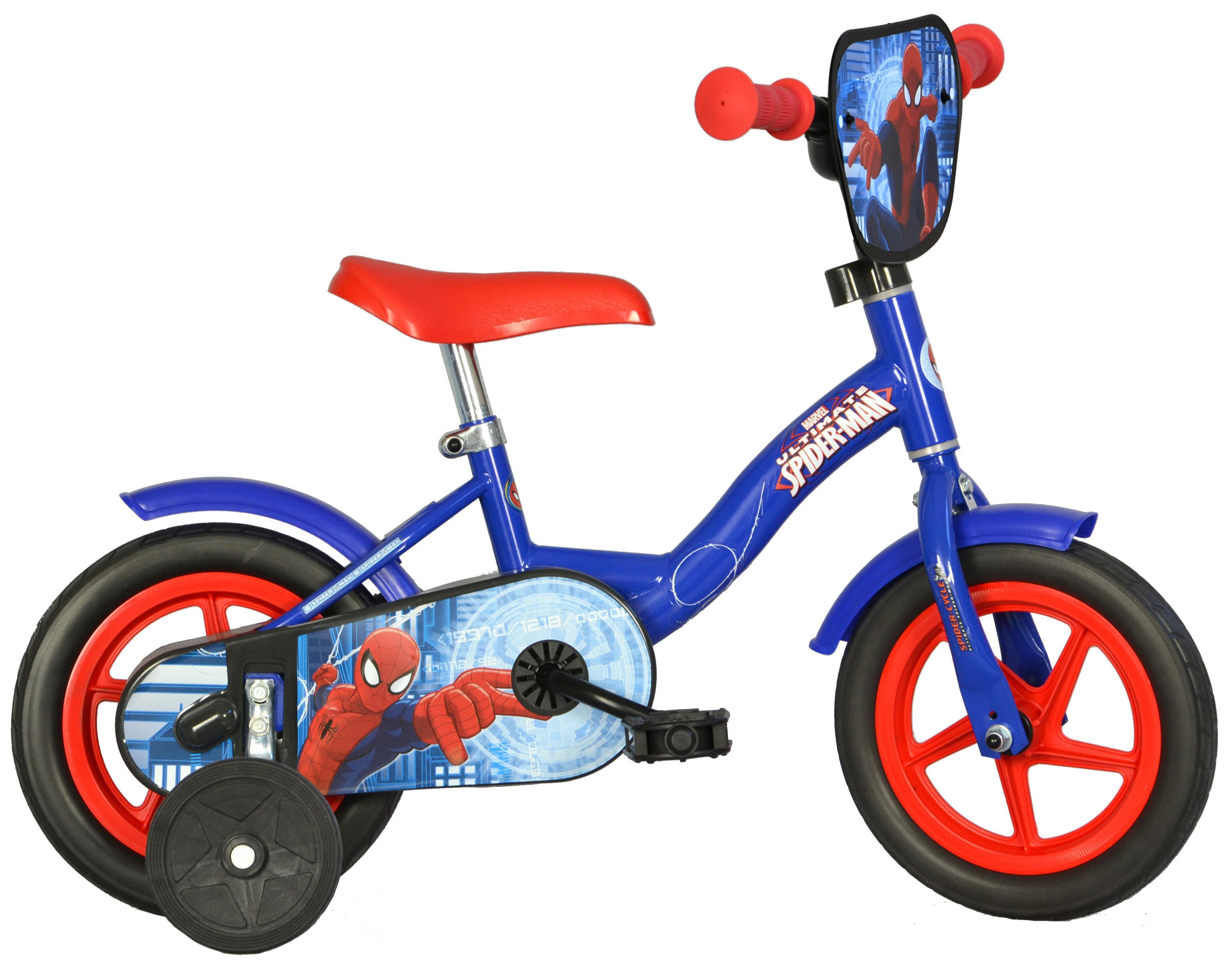 Spiderman Kids Bike - 10 inch Wheel
