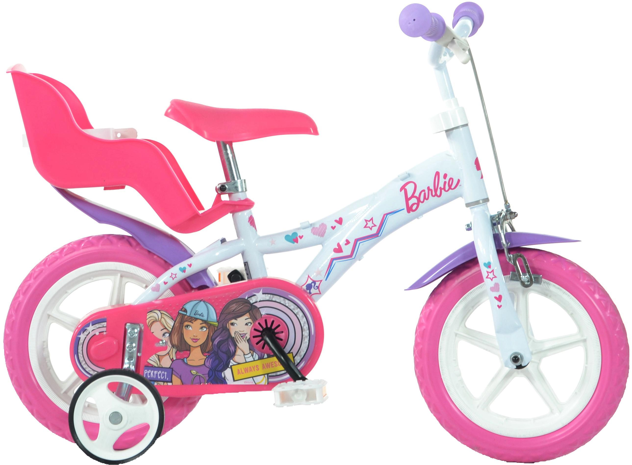 Barbie Kids Bike   12 Inch Wheel