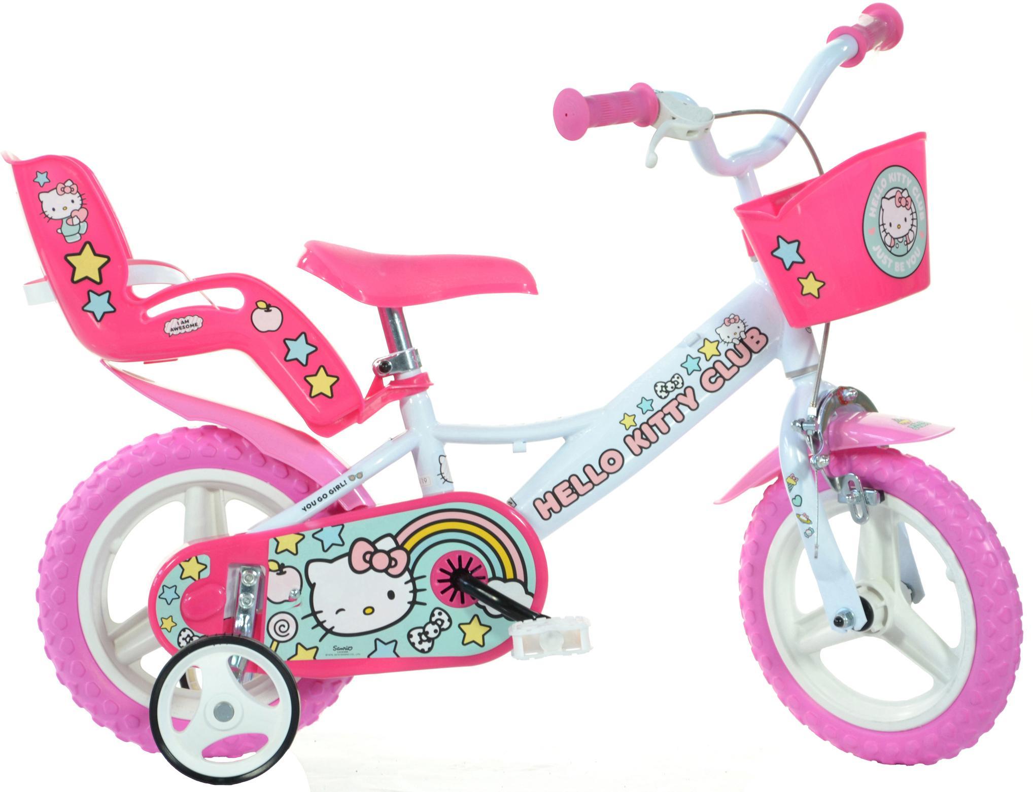 Hello Kitty Kids Bike - 12 inch Wheel