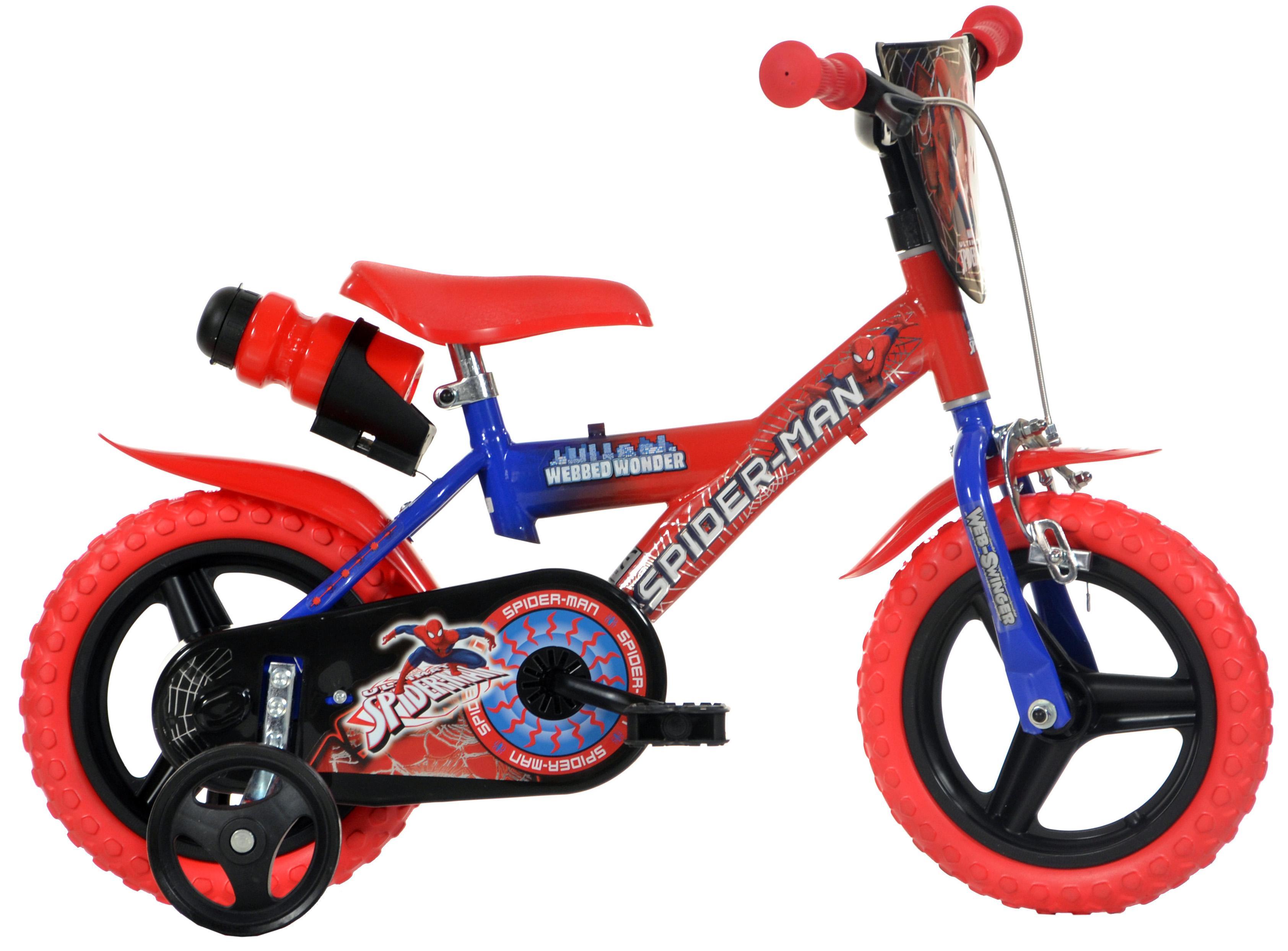 Spiderman Kids Bike - 12 inch Wheel