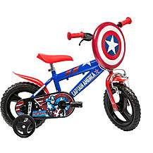 "image of Captain America Kids Bike - 12"" Wheel"