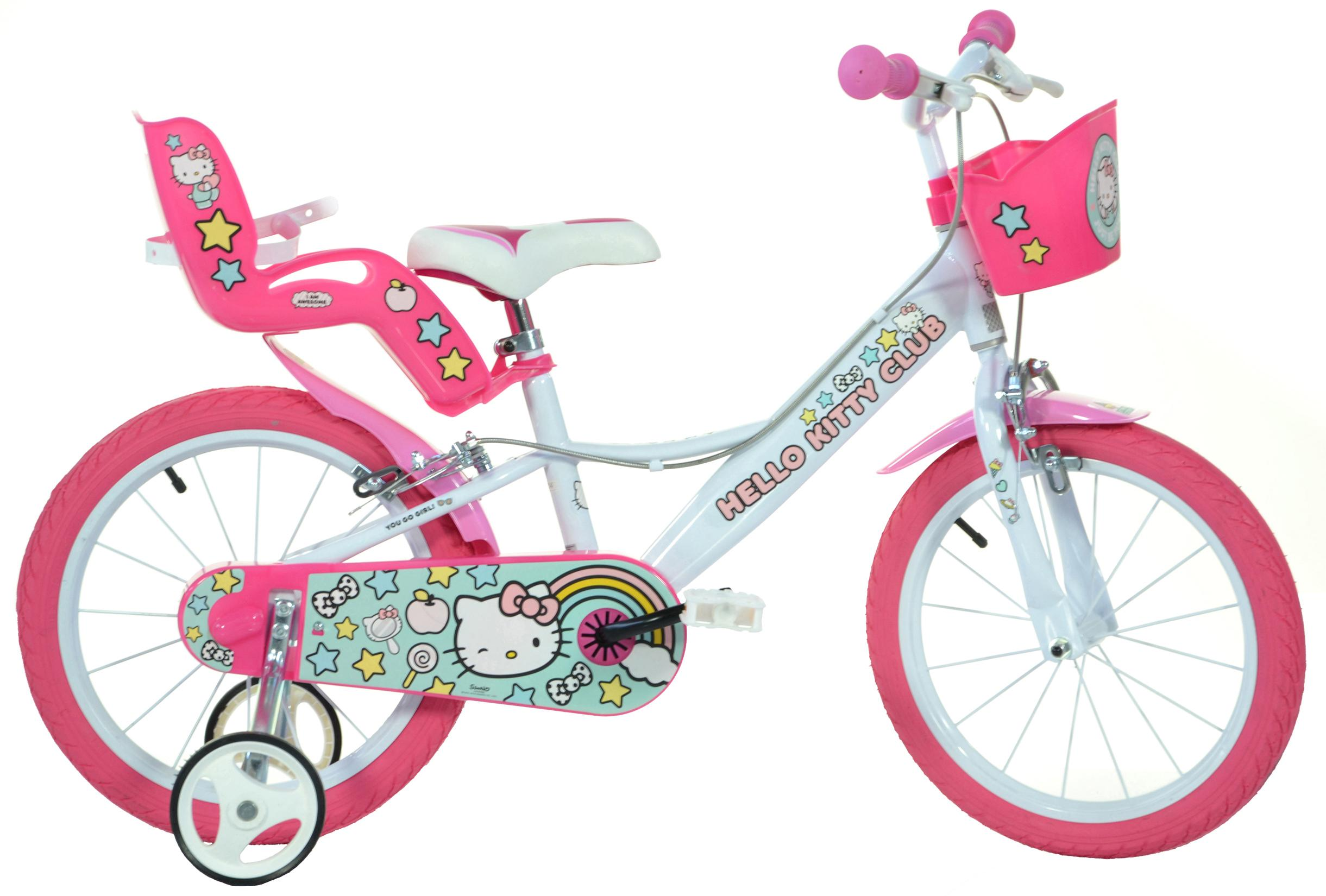 Hello Kitty Kids Bike - 16 inch Wheel