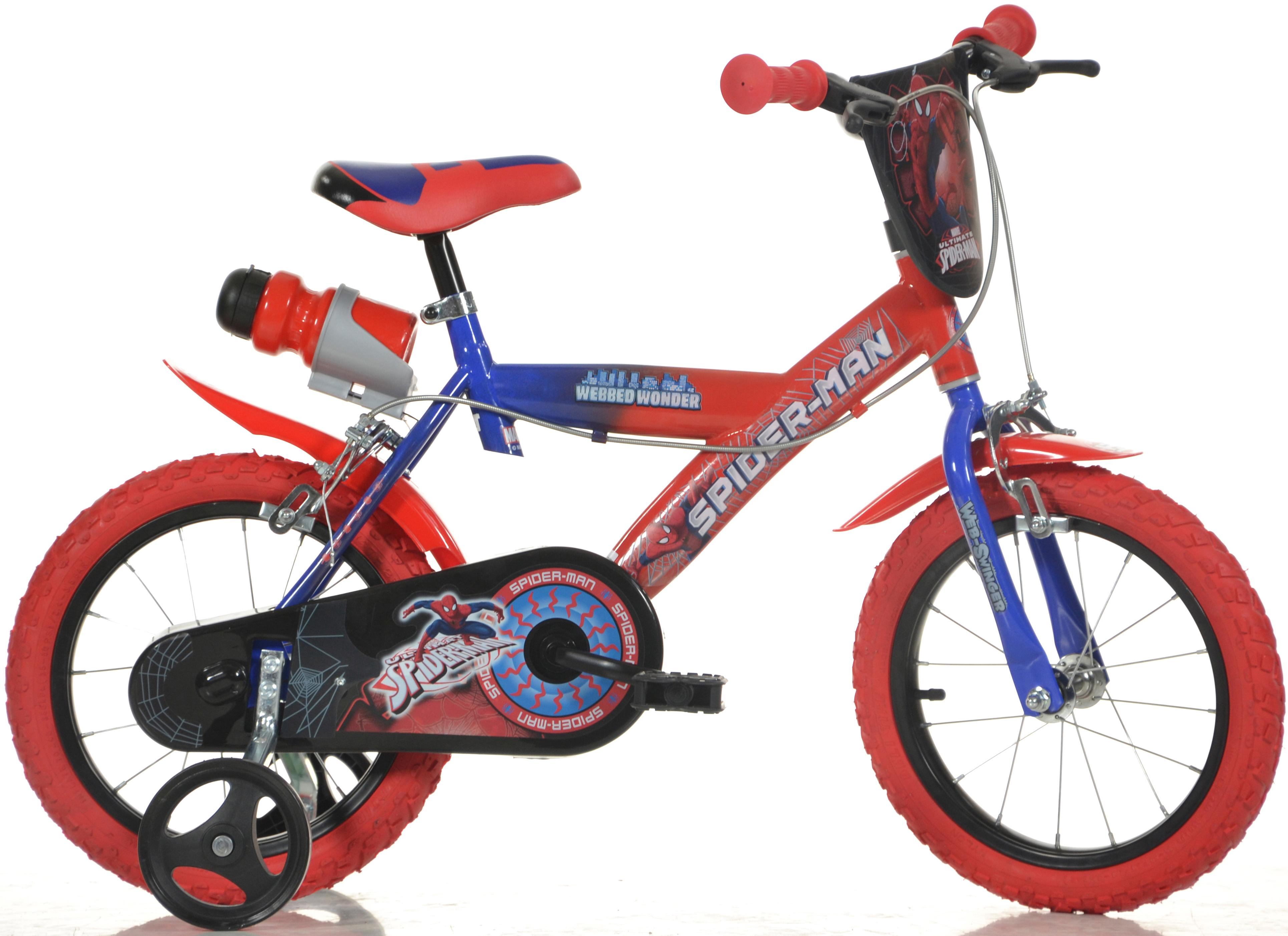 Spiderman Kids Bike - 16 inch Wheel