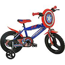 "image of Captain America Kids Bike - 16"" Wheel"