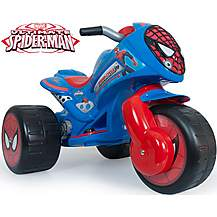 image of Injusa Ultimate Spider-Man Waves Trimoto 6 Volt