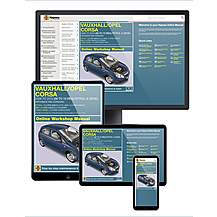 image of Haynes Online Manual Vauxall Corsa Sept 2006-10