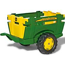 image of Rolly Toys John Deere Farm Trailer