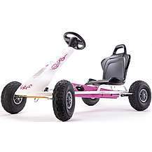 image of Air Racer Go Kart - Pink & White