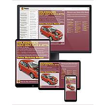 image of Haynes Online Manual Volkswagen Golf 2004-Sept 08
