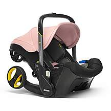 image of Doona+ Infant Car Seat and Stroller Travel System - Blush Pink