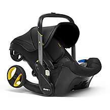 image of Doona+ Infant Car Seat and Stroller Travel System - Nitro Black
